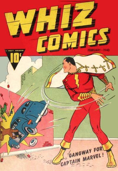 Whiz Comics 002
